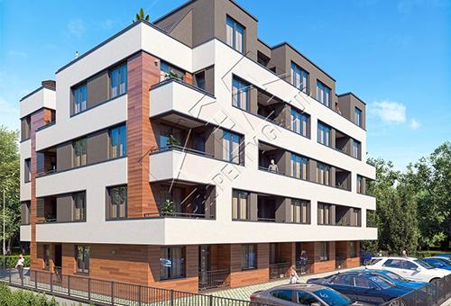 Двустаен апартамент в нова сграда в квартал Сарафово Бургас